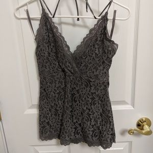 Limited halter neck camisole